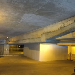 Repair (Specialty Consulting) - Strengthening of 48 year old Parking Garage using External Post-tensioning #3