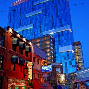 Greektown Casino, Detroit, MI (320,000 sq. ft. – 31 Levels) Hotel + Garage - One-way slab and beam, two-way slabs and very large size transfer girders supporting 19 levels