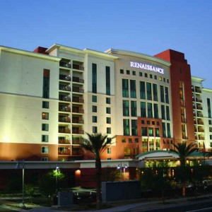 Renaissance Hotel, Glendale, AZ (108,000 sq. ft. – 7 Levels) Two-way slabs with complex geometry and loading
