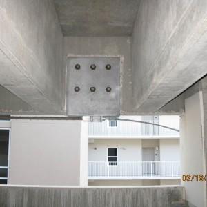 Repair - External Post-tensioning of Pre-tensioned Prestresed Concrete Transfer Girders (#2)
