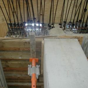 Repair of Honeycomb in Transfer Girder #2